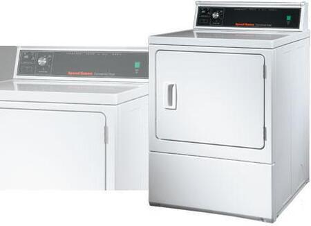 Speed Queen Sdg909 Gas Dryer In White Appliances Connection