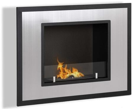 Moda Flame GF102100 Wall Mountable Bioethanol Fireplace