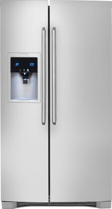Electrolux EW23CS85KS Wave-Touch Series Counter Depth Side by Side Refrigerator with 22.6 cu. ft. Capacity in Stainless Steel