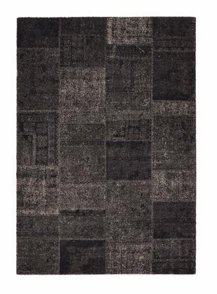 Citak Rugs 3510-075X Hudson Collection - Collage - Charcoal