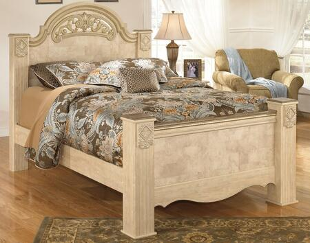 Signature Design by Ashley B346POSTERBED Saveaha Collection x Size Poster Bed in Light Opulent