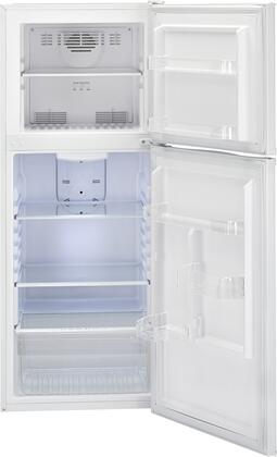 haier ha10tg21sw 24 inch counter depth top freezer refrigerator in white appliances connection. Black Bedroom Furniture Sets. Home Design Ideas