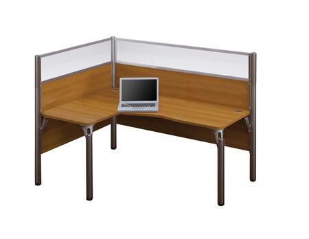 Bestar Furniture 100854B Pro-Biz single Left L-desk workstation