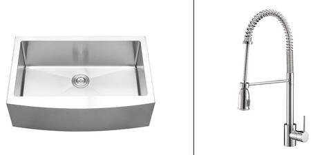 Ruvati RVC2426 Kitchen Sink