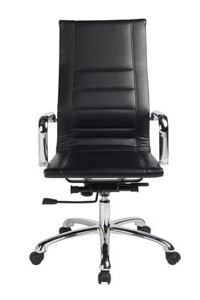 "VIG Furniture VGLFWX14BBLK 22"" Adjustable Modern Office Chair"