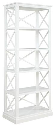 Donny Osmond Home 801383 Johansson Series Wood 5-6 Shelves Bookcase