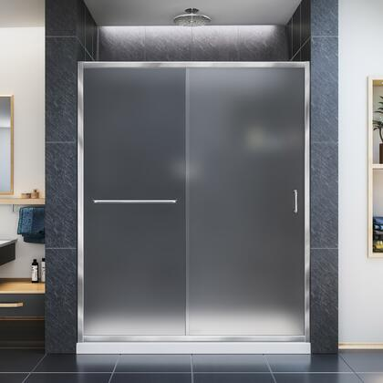 Infinity Z Shower Door 60 01