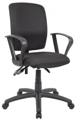 "Boss B3037BK 27"" Adjustable Contemporary Office Chair"