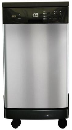 Sunpentown SD9239SS  Portable Full Console Dishwasher