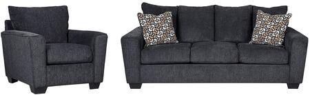 Milo Italia MI1331SCSLAT Carley Living Room Sets