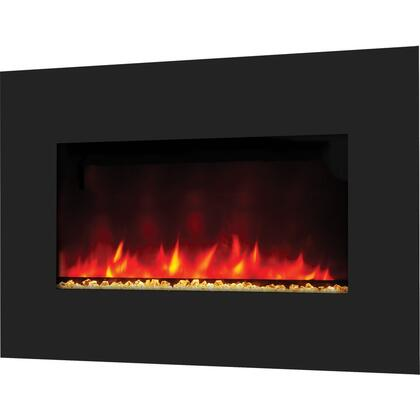 Amantii ZECL333624 Wall Mountable Electric Fireplace