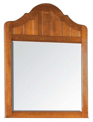 Durham 105189WB Bayview Series Arched Portrait Dresser Mirror