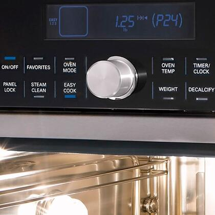 thermador mes301hp 24 inch single wall oven in stainless steel with handle appliances connection