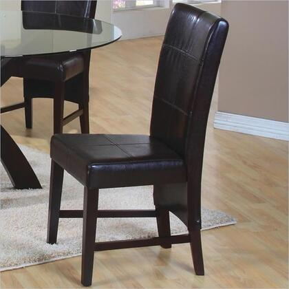 Coaster 100972 Casual Wood Frame Dining Room Chair