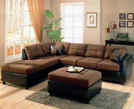 Coaster 500655L  Microfiber Sofa