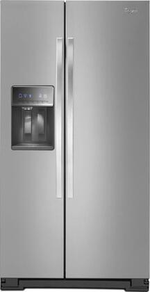 Whirlpool WRS321CDBM Freestanding Side by Side Refrigerator |Appliances Connection