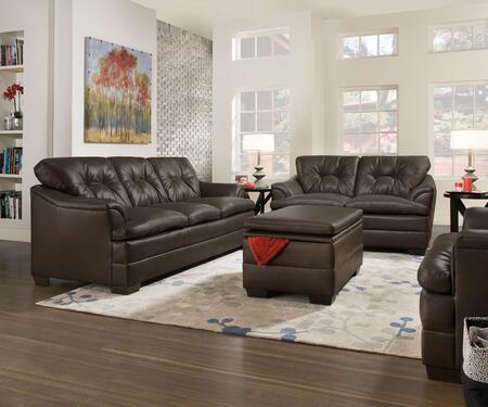 Simmons Upholstery 512203202201297APOLLOESPRESSO Apollo Livi