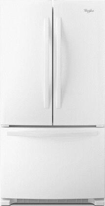 """Whirlpool WRF535SMBW 36""""  French Door Refrigerator with 25.2 cu. ft. Capacity in White"""
