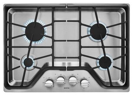 "Maytag MGC9530DS 30"" Gas Sealed Burner Style Cooktop, in Stainless Steel"