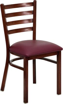 Flash Furniture FDDG694BLADMAHBURVGG Contemporary Vinyl Metal Frame Dining Room Chair
