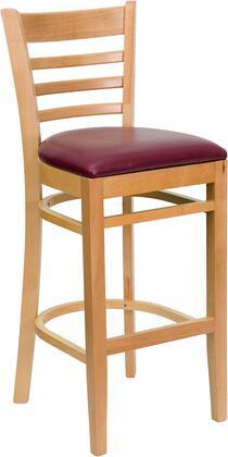 Flash Furniture XUDGW0005BARLADNATBURVGG Hercules Series  Wood Vinyl Gaming Chair