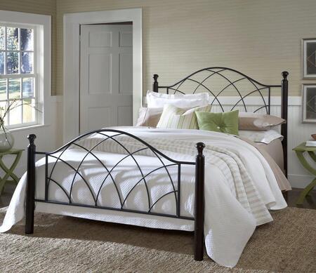 Hillsdale Furniture 1764BKR Vista Series  King Size Poster Bed