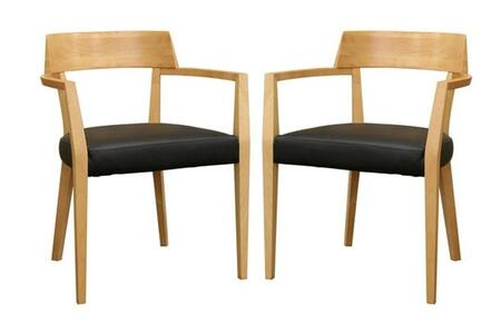 Wholesale Interiors DC587NATURALSET Laine Dining Room Chairs
