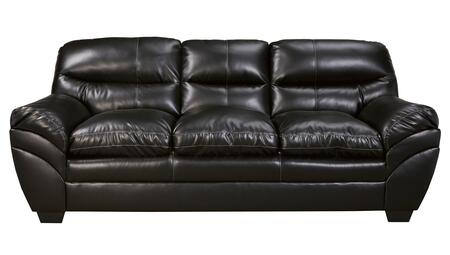 Milo Italia MI-9825CTMP Jaylee Sofa with Padded Arms, Split Back Cushions, Tapered Legs and DuraBlend Upholstery in