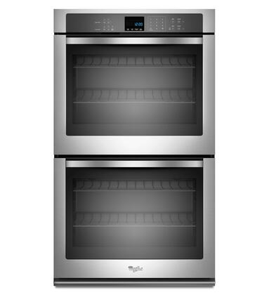 "Whirlpool WOD51EC0AS 30"" Double Wall Oven, in Stainless Steel"