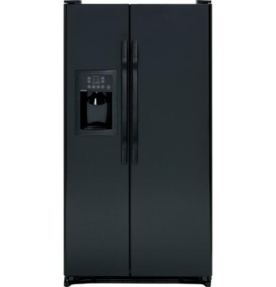 Hotpoint HSH25GFBBB Freestanding Side by Side Refrigerator