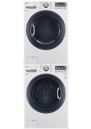 LG LG3PCFL27GSTCKWKIT3 Washer and Dryer Combos