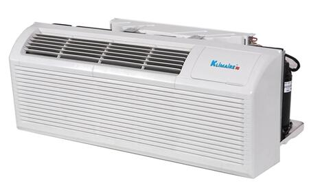Klimaire KTHM015 15,000 BTU PTAC Packaged Terminal Air Conditioner with 5kw Electric Heater, Quick Condenser, Electronic Controls, Optional Remote, and Easy-Clean Filter in White
