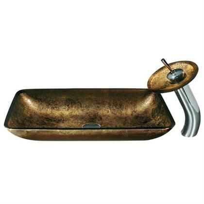 Vigo VGT009CHRCT Chrome Bath Sink