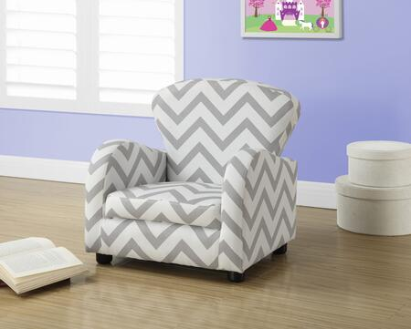 """Monarch I 814X 20"""" Juvenile Chair with Sturdy Construction, Upholstered and Fun Size"""