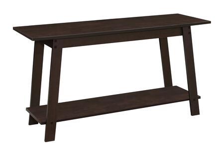 "Monarch I273XTV 42"" TV Stand with Sturdy Side Legs and Bottom Shelf in"
