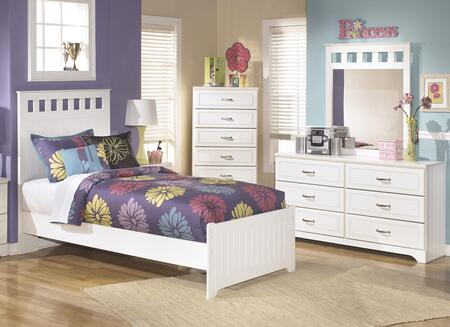 Milo Italia BR174TPBDMC Dayanara Twin Bedroom Sets