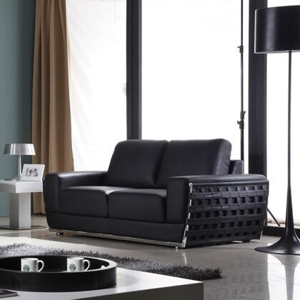 Diamond Sofa THEWAVELB Wave Series  Loveseat