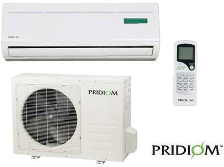 Pridiom AMS240HR Mini Split Air Conditioner Cooling Area,