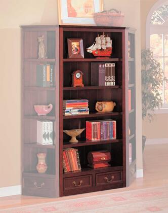 Coaster 800375 Wood 5 Shelves Bookcase
