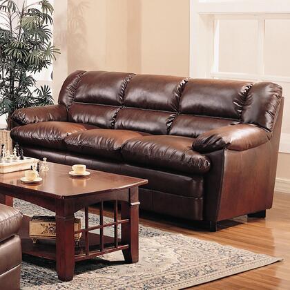 Coaster 501911  Stationary Bonded Leather Sofa