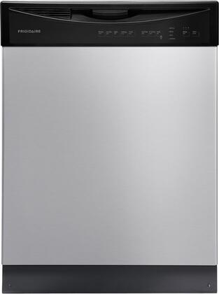 "Frigidaire FFBD2411NS 24""  Built In Full Console Dishwasher with 14 Place Settings Place Settingin Stainless Steel"