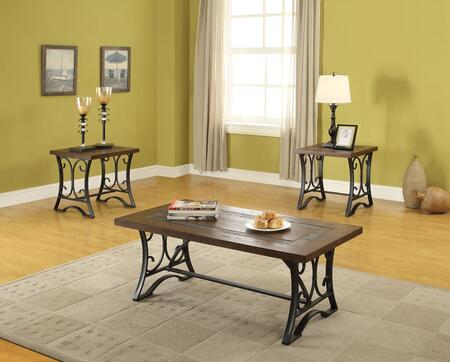 Acme Furniture 81130 Traditional Living Room Table Set