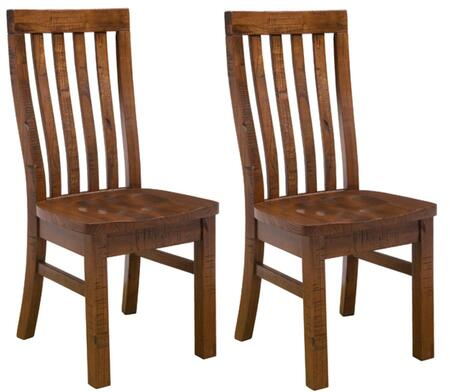 Hillsdale Furniture 4321804KD Outback Series Transitional Wood Frame Dining Room Chair