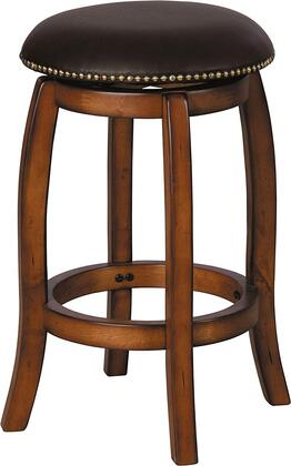 Acme Furniture 07247 Chelsea Series Residential Faux Leather Upholstered Bar Stool