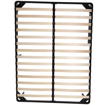 ESF Camelgroup Collection Wooden Slats Frame with Legs in Brown