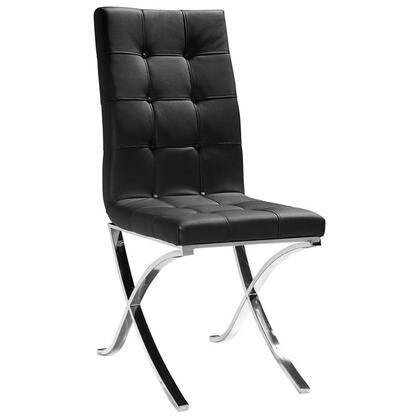 VIG Furniture VGLEXG12 Modern Leather Metal Frame Dining Room Chair