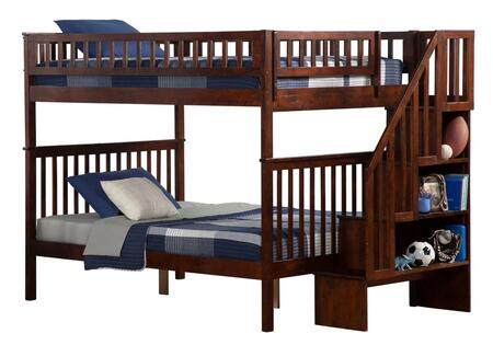 Atlantic Furniture AB56804  Full Size Bunk Bed