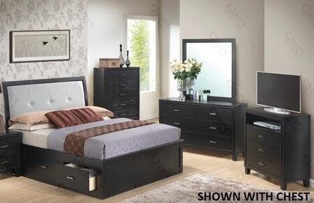Glory Furniture G1250FFSB2DMTV G1250 Full Bedroom Sets