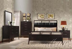 Acme Furniture 20110Q Boardwalk Series  Queen Size Poster Bed