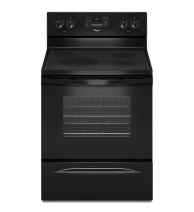"Whirlpool WFE330W0AB 30"" Electric Freestanding 